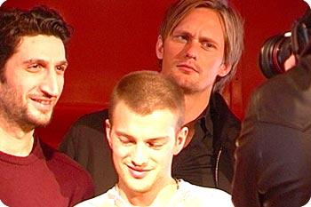 Fares Fares, Andreas Wilson och Alexander Skarsgård. Foto: Esbjörn Guwallius.