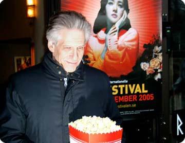David Cronenberg i Stockholm. Foto: Film.nu.