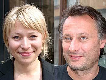 """Frida Hallgren och Michael Nyquist spelar huvudrollerna i """"Så som i Himmelen"""". Foto: Esbjörn Guwallius"""