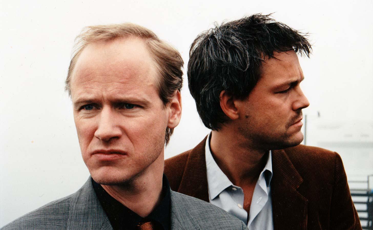 Robert Gustavsson och Henrik Schyffert. Foto: Esbjörn Guwallius.