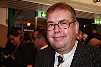 Michael Segerström på Guldbaggegalan 2008. Esbjörn Guwallius/Film.nu