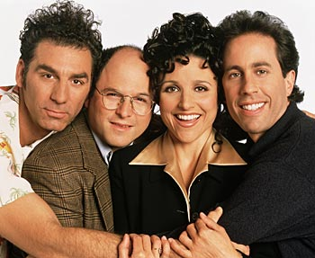Seinfeld-gänget. © 1996, 1997 Castle Rock Entertainment. All Rights Reserved. Sony Pictures Home Entertainment.