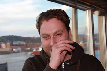 Jens Jonsson under besöket på Göteborgs filmfestival. Esbjörn Guwallius/Film.nu