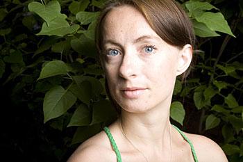 """Lisa Bergstöm vann årets """"SF Nordic Talent pitch"""" på Nordisk Panorama. Nordisk Panorama"""