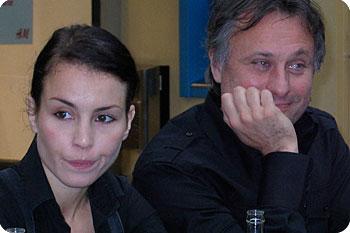 Noomi Rapace och Michael Nyqvist kommer att spela huvudrollerna när Stieg Larssons Millennium-triologi filmatiseras. Esbjörn Guwallius/Film.nu